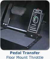 Left Foot Accelerator - floor mounted quick release